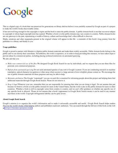 George Perkins Marsh - The Earth as Modified by Human Action