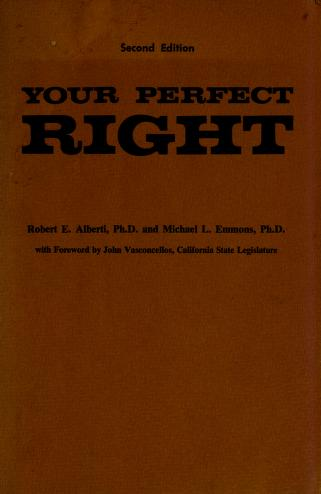 Cover of: Your perfect right by Robert E. Alberti
