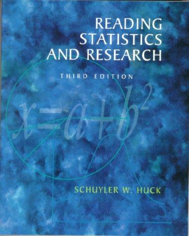 Download Reading statistics and research