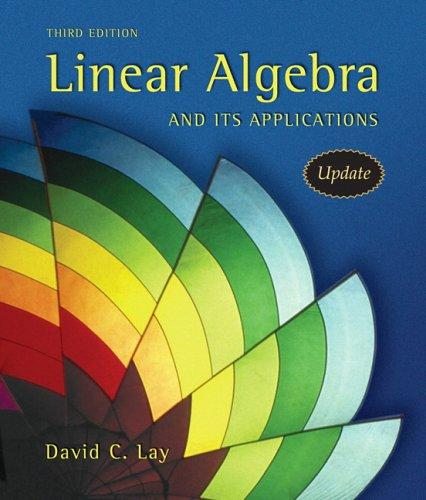 Download Linear algebra and it's applications