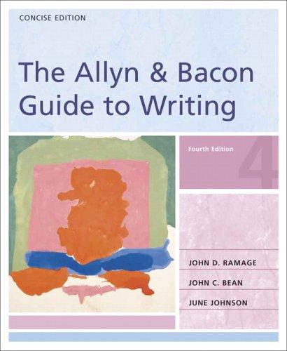 Download The Allyn & Bacon guide to writing