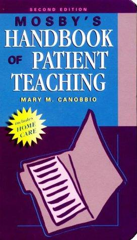 Download Mosby's handbook of patient teaching
