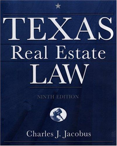 Download Texas real estate law