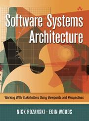 Software Systems Architecture: Working With Stakeholders Using Viewpoints And Perspectives PDF Download