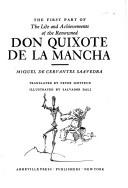 Download The first part of the life and achievements of the renowned Don Quixote de la Mancha