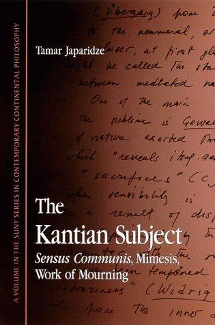 Download The Kantian Subject