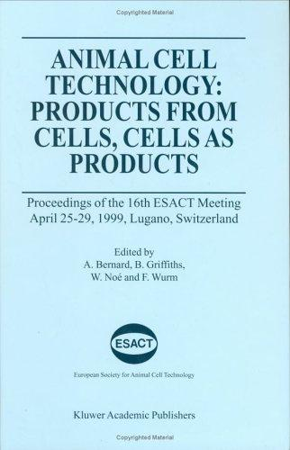 Image for Animal Cell Technology: Products from Cells, Cells as Products