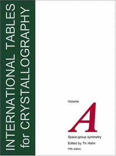 Download International Tables for Crystallography, Volume A