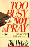 Download Too busy not to pray