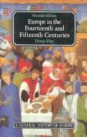 Europe in the fourteenth and fifteenth centuries