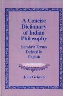 Download A concise dictionary of Indian philosophy