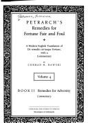 Petrarch's Remedies for fortune fair and foul