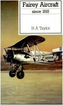 Fairey aircraft since 1915