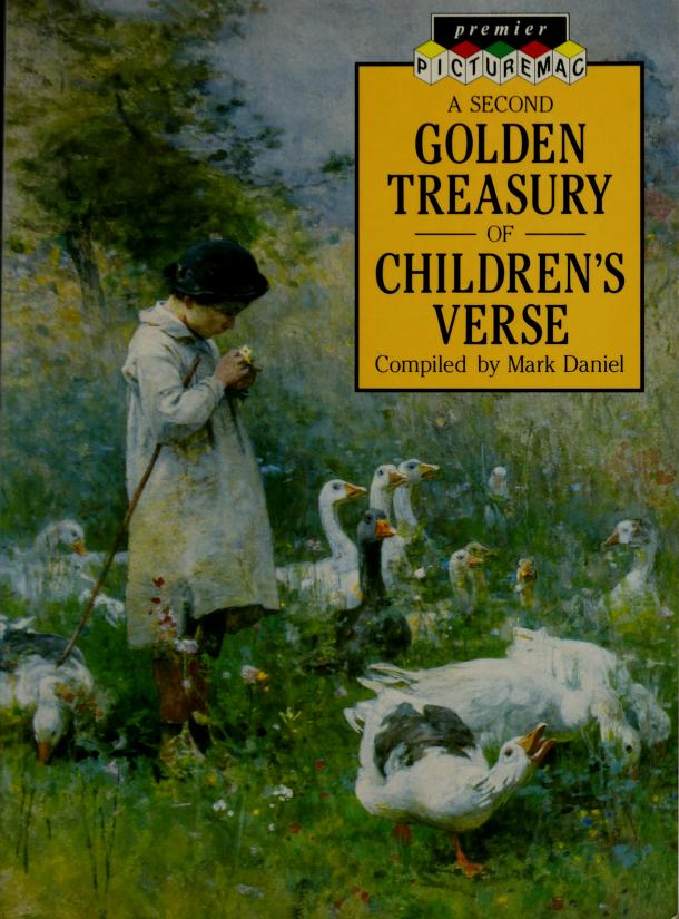 A Second Golden Treasury of Children's Verse (Premier Picturemac) by Mark Daniel