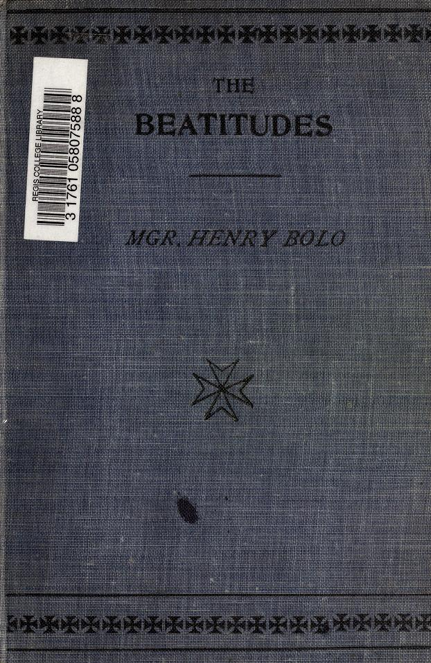 The Beatitudes by Henry Bolo