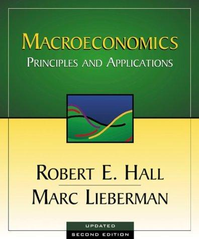 Macroeconomics by Robert E. Hall