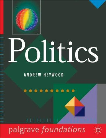 Politics (Palgrave Foundations)