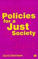 Policies for a Just Society by David V. Donnison