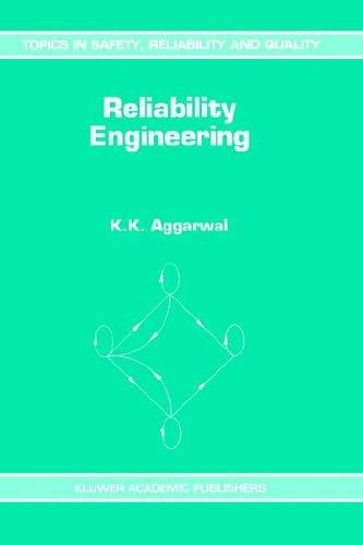 Reliability engineering by K. K. Aggarwal