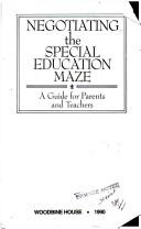 Negotiating the special education maze by Winifred Anderson